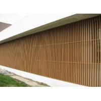 Wholesale Wall Decorative Column WPC Fence Panels Screen For Villa , Real Estate , House from china suppliers