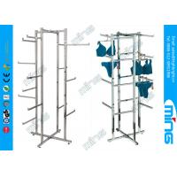 Wholesale Modern Chrome Folding Lingerie Metal Clothes Rack With 16 Arms from china suppliers