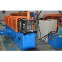 Buy cheap Durable Omega  Shape Metal Stud Roll Forming Machine / 5.5KW Main Motor Power Furring Channel Equipment from wholesalers