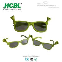 Wholesale plastic frame comfortable safe realD 3d glasses cinema children 3d glasses from china suppliers