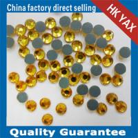 Wholesale 0ppm rhinestone less than 90PPM rhinestones LT.topaz color from china suppliers