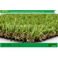 Buy cheap PP Curl Fake Turf Grass PE Monofilament 25mm Dtex9000 for Playground from wholesalers