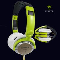 Xibter S 200 Foldable 3.5mm Headset With Remote Microphone Students Colorful Cellphone Headphone Girl Women Gift