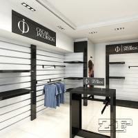 Wholesale Wooden Display Design Sports Garments Showroom display from china suppliers