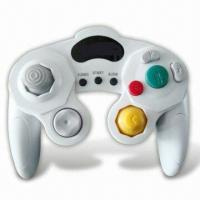 Wholesale Dual Shock Controller with Turbo Function, Compatible with Wii/Game Cube from china suppliers