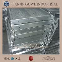 Wholesale 4M Galvanized metal scaffolding plank 500mm Weldling scaffolding catwalk from china suppliers