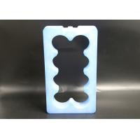 Quality Plastic Material Special Shape Custom Gel Ice Cooler Bricks For Beverage Cold for sale