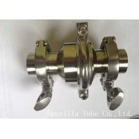 Wholesale Sanitary Elbow Valves Stainless Steel Valves And Fittings ASTM A270 from china suppliers
