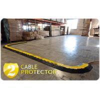 Wholesale 1000 * 250 * 50mm 2 Channel Cable Protector Ramp Heavy Duty For Outdoor Event from china suppliers