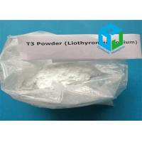 Wholesale Liothyronine Sodium Anti - aging Steroids Raw Powder 55-06-1 For Hypothyroidism Treatment from china suppliers