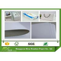 Wholesale Good Whiteness Whiteboard Paper Grey Back Used for Package Boxes from china suppliers