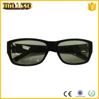 Wholesale custom logo printing 3d glasses for film circular/linear lens from china suppliers
