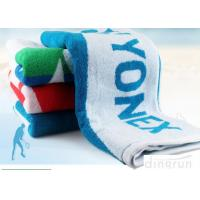 Wholesale Terry Yonex Lengthen Soft Gym Workout Towels 100% Cotton 60*120cm Stripe Design from china suppliers
