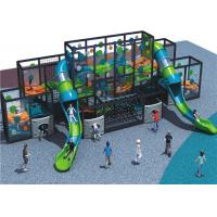 Wholesale Adventurous Kids Playground Equipment Large Climbing Wall For Cultivating Courage from china suppliers