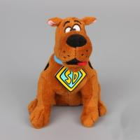 Wholesale 8inch Original Brown Cartoon Plush Toys Scooby Doo Sitting Pose Stuffed Animal from china suppliers