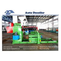 Buy cheap 10T Automatic DE-coiler with coil car from wholesalers