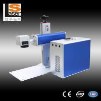Buy cheap Buttons Fiber Laser Marking Equipment For Metal , Plastic , Wood from wholesalers