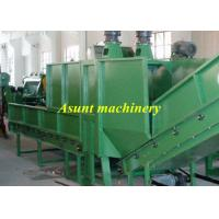 Wholesale Single air exhaust PET Recycle Machine 500kg / h High efficiency Plastics Extrusion Machinery from china suppliers
