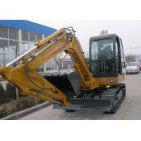 Quality Hydraulic Heavy Construction Vehicles , Wheel Loader Excavator 34 Mpa Working Pressure for sale