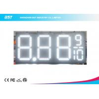 Buy cheap 24 Inch Outdoor Led Gas Price Changer / Gas Station Price Sign Numbers from wholesalers