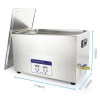 Quality 30L Automotive Digital Industiral Metal Part Ultrasonic Cleaner With Basket for sale