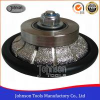 Wholesale Johnson Tools No.6 Granite Hand Profile Wheel , Vacuum Brazed Diamond Profile Wheel from china suppliers