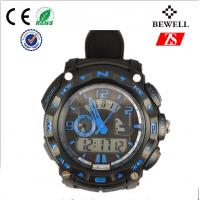 Wholesale Vogue Men Leisure Sport Silicon Band Watch 3atm Water Proof CE RoHS from china suppliers
