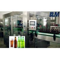 Wholesale Fully Automatic Carbonated drink / Beer Bottle Filling Machine For PET / Glass Bottles from china suppliers