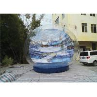 Wholesale Xmas High Quality PVC Transparent Giant Inflatable Snow Globe from china suppliers