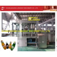 Wholesale fully automatic soda water filling capping packing machine in Sweden from china suppliers