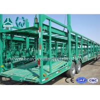 Wholesale Double Axles Single Car Carrier Semi Trailer High Tensile Steel Q345B from china suppliers