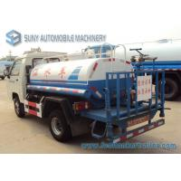 Quality 1000 L - 2000 L 4x2 Drive Small Fire Fighting Vehicle Foton forland water tank truck 68hp for sale