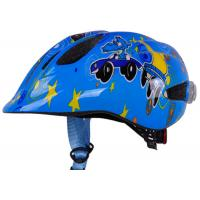 Wholesale EPS/PC Inmoulded Battery Powered LED Light Kids Bicycle & Skate Helmets with 7 Big Ventilation Holes from china suppliers