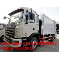 Wholesale new design hot-sale 4*2 12m3 JAC garbage compactor truck, JAC LHD  compacted garbage truck from china suppliers