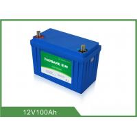 Wholesale RV Camper Battery 12 Volt 100Ah Lithium Battery Deep Cycle LiFePO4 Battery Pack from china suppliers