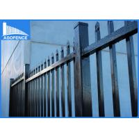 Wholesale Flat Top Steel Panel Fence Rust Proof , High Security Wire Garden Fencing from china suppliers