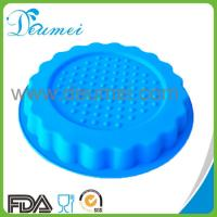 Wholesale Newest Design Round Shaped Silicone Pizza Cake Mold/Cake Pan from china suppliers