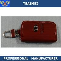 Wholesale Men / Ladies Personalized Leather Key Holder Pouch With Card Holders from china suppliers