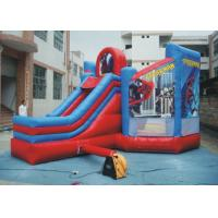 Wholesale PVC Spiderman Jumping Castle / Inflatable Spiderman Bouncy Castle For Garden from china suppliers