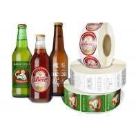 Wholesale Any Shaped Self Adhesive Removable Beer Bottle Labels Printing Customized from china suppliers