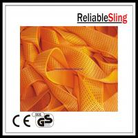 Wholesale Reliable orange Ratchet Strap Webbing 75mm / 100mm Width 3 inch / 4 inch 10T from china suppliers