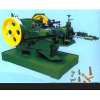 Wholesale 98% Pass Rate Nail Manufacturing Machine For Hollow / Half - Hollow Rivets from china suppliers