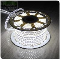 Wholesale 2017 new arrival 220v 5050 smd strip white  led ribbon 60LED/m flexible led strip from china suppliers