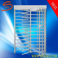 Quality Full height motorized industrial turnstile , bi-directional turnstile for sale