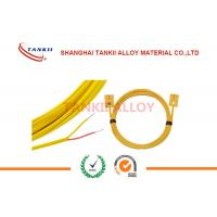Quality Thermocouple Cable with insulation of  Ceramic Fiber , High Temp Fiberglass 800 Deg C 1200 Deg C for sale
