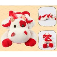 Wholesale Promotion Gifts Lovely Red Cow Shape Custom Small Stuffed Animals For Children from china suppliers