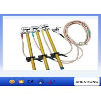 Wholesale 1.5M Light Epoxy Resin Grounding Stick / Earth Stick With Ground Wire from china suppliers