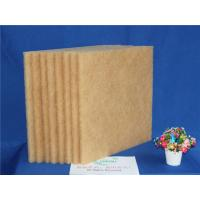 Wholesale Brown High Temperature Filter Media , Synthetic Air Filter Media 20M Length from china suppliers
