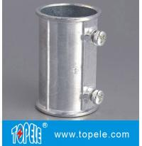Wholesale EMT Set Screw Coupling, Zinc / Aluminum , Electrical Conduit Fittings Zinc Coupling from china suppliers