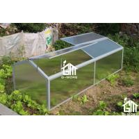 Wholesale 130 x 70 x 62cm Silver Color Cold Frame Series Aluminum Greenhouse from china suppliers